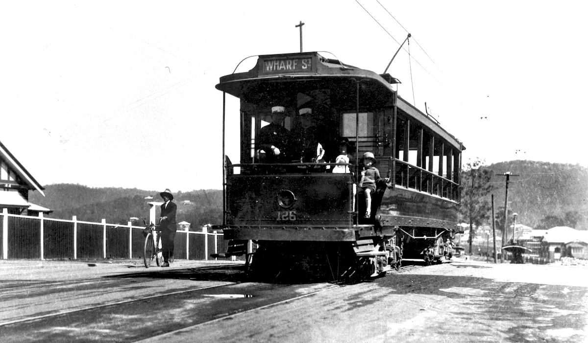 HS5 Tram on Waterworks Rd 1924
